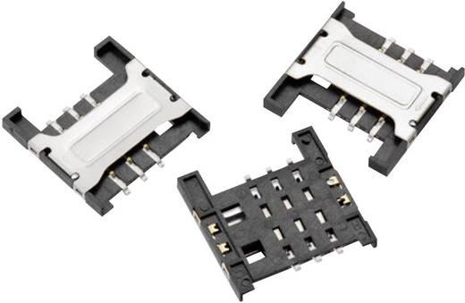 WR-CRD SIM-Kartensockel Pole: 6 Würth Elektronik Inhalt: 1 St.