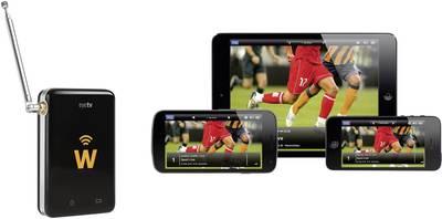 Geniatech EyeTV W DVB-T TV-WLAN-Empfänger mit DVB-T Antenne Anzahl Tuner: 1
