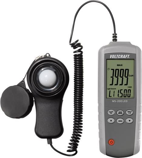 Lampentester VOLTCRAFT MS-200LED bis 400000 lx Kalibriert nach Werksstandard (ohne Zertifikat)