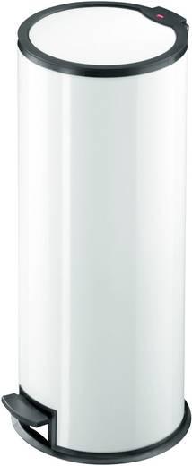 Mülleimer 24 l Hailo T3.24 (Ø x H) 275 mm x 71 mm Weiß 1 St.