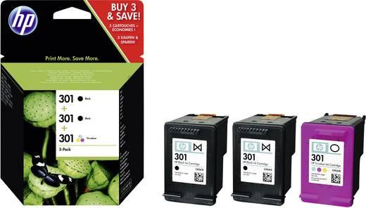 HP Tinte 301 Original Kombi-Pack Schwarz, Cyan, Magenta, Gelb E5Y87EE