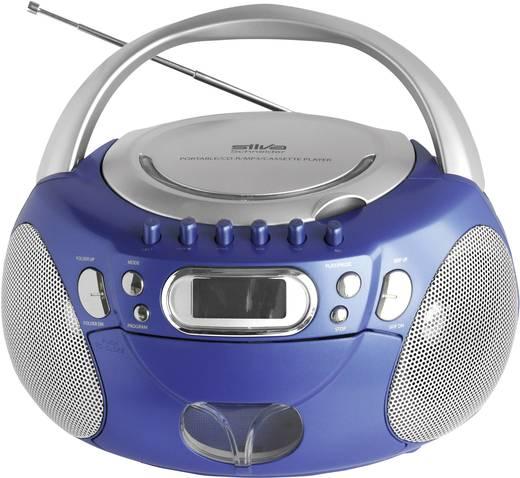 silva mpc 116 radiorecorder mit mp3 cd player. Black Bedroom Furniture Sets. Home Design Ideas