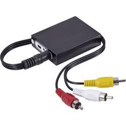 AV konvertor HDMI zásuvka ⇒ cinch zástrčka SpeaKa Professional SP-HD/AV-01 SP-4000716