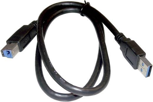 7 Port USB 3.0-Hub Metallgehäuse, einzeln schaltbar, zur Wandmontage Renkforce Schwarz