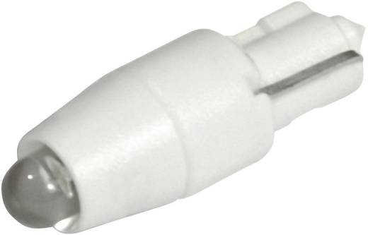 LED-Lampe W2x4.6d Warm-Weiß 12 V/DC, 12 V/AC 1080 mcd CML 1511A25L3
