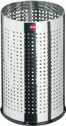 Papierkorb 15 l Hailo ProfiLine basket M (Ø x H) 240 mm x 330 mm Edelstahl 1 St.