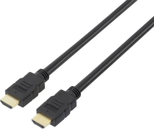 HDMI Anschlusskabel [1x HDMI-Stecker - 1x HDMI-Stecker] 15 m Schwarz SpeaKa Professional