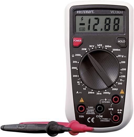 Hand-Multimeter digital VOLTCRAFT VC130-1 Kalibriert nach: Werksstandard CAT III 250 V Anzeige (Counts): 2000