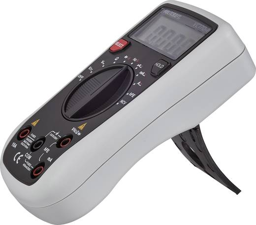 VOLTCRAFT VC170-1 Hand-Multimeter digital Kalibriert nach: DAkkS CAT III 250 V Anzeige (Counts): 4000
