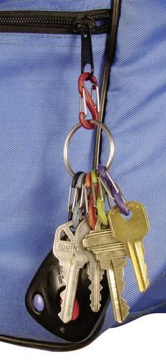 Schlüsselring mit Karabiner NITE Ize KeyRing 6 S-Biner Silber 1 St.