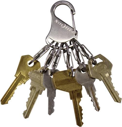 Schlüssel-Karabiner NITE Ize KeyRack Locker Silber 1 St.