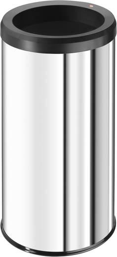 Mülleimer 45 l Hailo BigBin Quick XL (Ø x H) 320 mm x 690 mm Edelstahl 1 St.