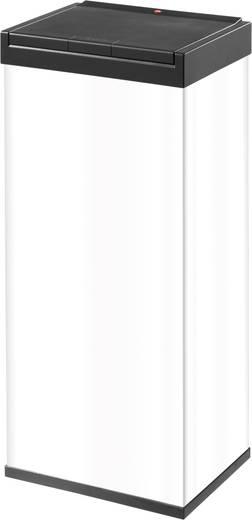 Mülleimer 60 l Hailo Big-Box Touch XL (B x H x T) 340 x 770 x 260 mm Weiß One-Touch-Deckelöffnung 1 St.
