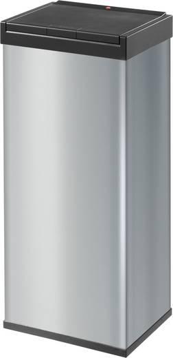Mülleimer 60 l Hailo Big-Box Touch 60 (B x H x T) 340 x 770 x 260 mm Silber One-Touch-Deckelöffnung 1 St.