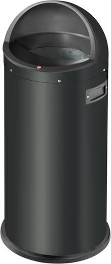Mülleimer 50 l Hailo Quick XL (Ø x H) 350 mm x 850 mm Schwarz 1 St.