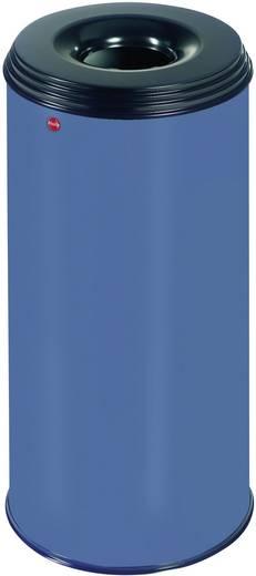 Papierkorb 50 l Hailo ProfiLine safe XL (Ø x H) 330 mm x 630 mm Blau Flammlöschende Deckelkonstruktion 1 St.