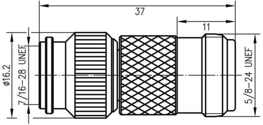TNC-Adapter TNC-Stecker - N-Buchse Telegärtner J01019A0008 1 St.