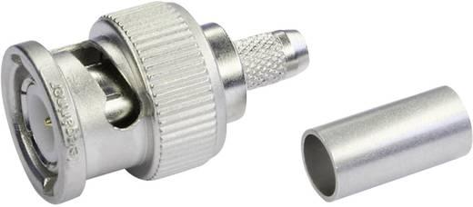 BNC-Steckverbinder Stecker, gerade 75 Ω Telegärtner J01002M1288Y 1 St.