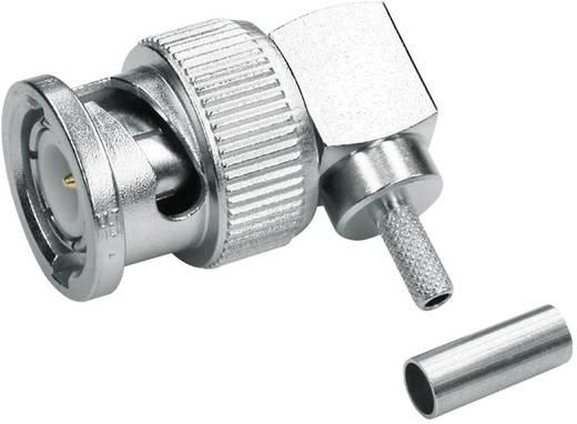 BNC-Steckverbinder Stecker, gewinkelt 50 Ω Telegärtner J01000A0010 1 St.