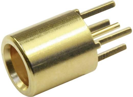 MCX-Steckverbinder Buchse, Einbau vertikal 50 Ω Telegärtner J01271A0141 1 St.
