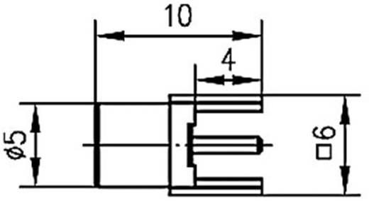 MCX-Steckverbinder Buchse, Einbau vertikal 50 Ω Telegärtner J01271A0131 1 St.