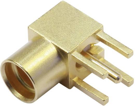MMCX-Steckverbinder Buchse, Einbau horizontal 50 Ω Telegärtner J01341A0031 1 St.