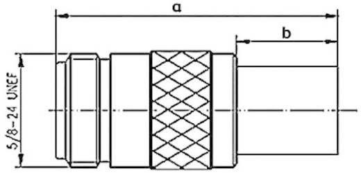 N-Steckverbinder Buchse, gerade 50 Ω Telegärtner J01021A0146 1 St.