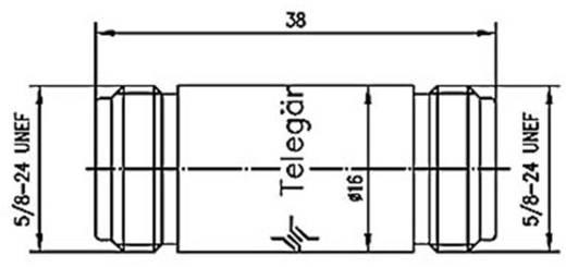 BNC-Adapter N-Buchse - N-Buchse Telegärtner J01024A0004 1 St.