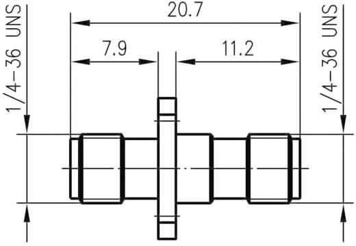 SMBA-Adapter SMA-Buchse - SMA-Buchse Telegärtner J01154A0011 1 St.