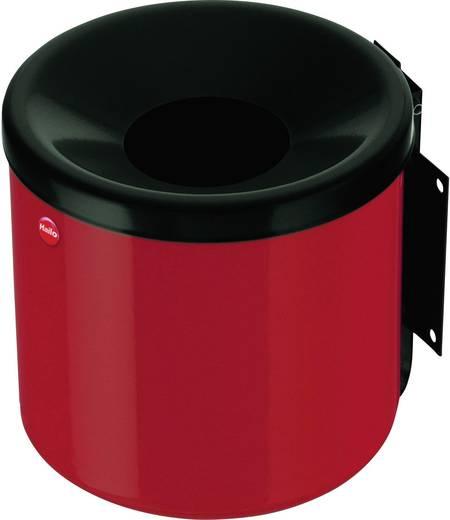 Aschenbecher 1.2 l Hailo ProfiLine easy S (Ø x H) 170 mm x 160 mm Karmin-Rot Inkl. Wandhalterung 1 St.