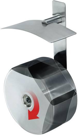 Aschenbecher 1.5 l Hailo ProfiLine easy pro 1,5 (Ø x H) 160 mm x 110 mm Edelstahl Inkl. Wandhalterung 1 St.