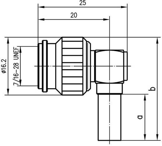 TNC-Steckverbinder Stecker, gewinkelt 50 Ω Telegärtner J01010A0005 1 St.