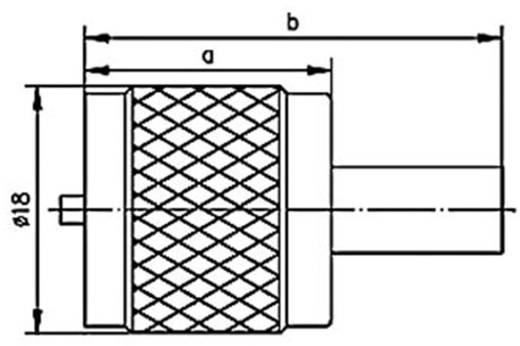 UHF-Steckverbinder Stecker, gerade 50 Ω Telegärtner J01040A0001 1 St.