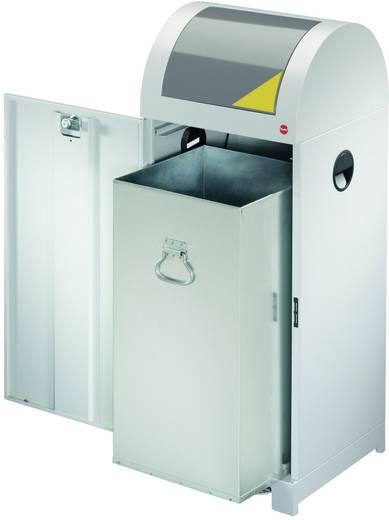 Mülleimer 40 l Hailo ProfiLine WSB XL (B x H x T) 400 x 770 x 400 mm Weißaluminium 1 St.