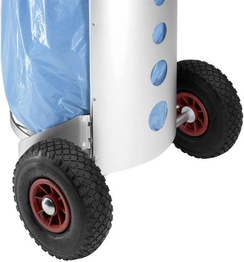 Mülleimer 120 l Hailo Müll-Caddy Aluminium Fahrbar 1 St.