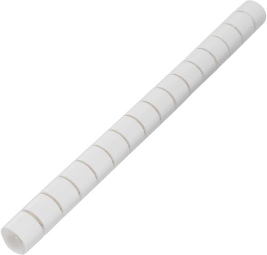 Kabelschlauch 15 mm (max) Weiß KL15WEZ-50M KSS 50 m