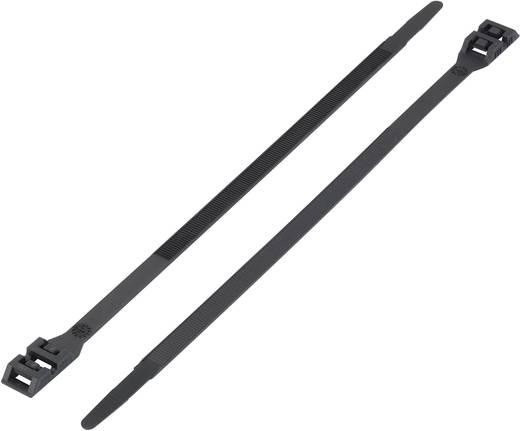 Kabelbinder 610 mm Schwarz mit Doppelkopf KSS 1091168 DK-610BK 1 St.