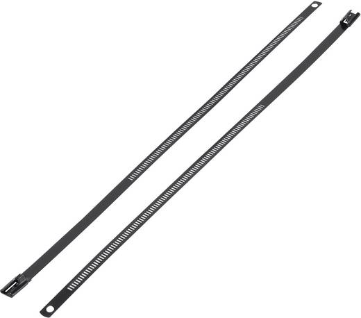 Kabelbinder 375 mm Schwarz mit Beschichtung KSS ASTN-375 ASTN-375 1 St.