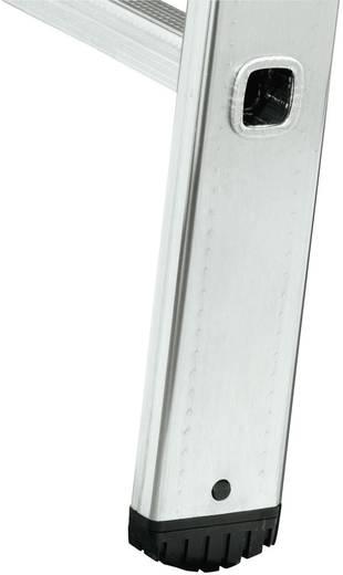Aluminium Schiebeleiter Arbeitshöhe (max.): 8.45 m Hailo ProfiStep duo 7215-001 Silber 18.4 kg
