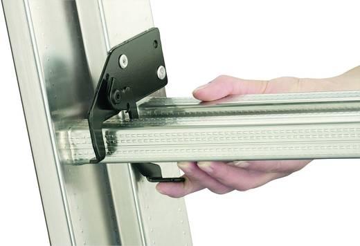 Aluminium Schiebeleiter Arbeitshöhe (max.): 5.20 m Hailo ProfiStep duo 7209-001 Silber 10.3 kg