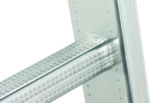 Aluminium Anlegeleiter Arbeitshöhe (max.): 5.20 m Hailo ProfiStep uno 7115-001 Silber 7.6 kg