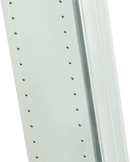 Aluminium Anlegeleiter Arbeitshöhe (max.): 6.00 m Hailo ProfiStep uno 7118-001 Silber 8.8 kg