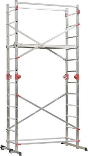 Hailo 9459-501 Aluminium-Multifunktionsgerüst 1-2-3 500 Combi Arbeitshöhe (max.) (Details): 4.35 m