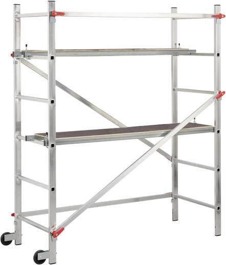 Hailo 9459-301 Aluminium-Gerüst 1-2-3 300 Arbeitshöhe (max.) (Details): 2.90 m