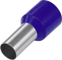 Embout simple d'extrémité de câble Conrad Components 1091289 1 x 16 mm² x 12 mm partiellement isolé bleu 100 pc(s)