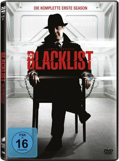 DVD The Blacklist - Staffel 1 FSK: 16