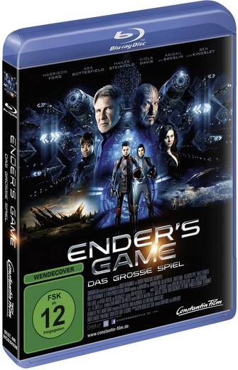 blu-ray Enders Game - Das grosse Spiel FSK: 12