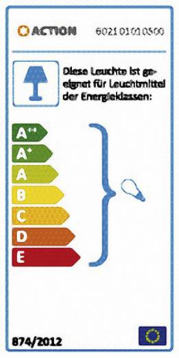 Pendelleuchte Energiesparlampe E27 60 W ACTION Dakota 602101010500 Chrom