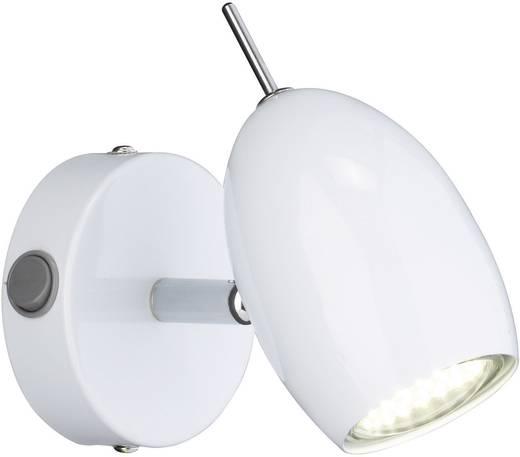 Wandleuchte GU10 2.4 W LED WOFI Quincy Weiß