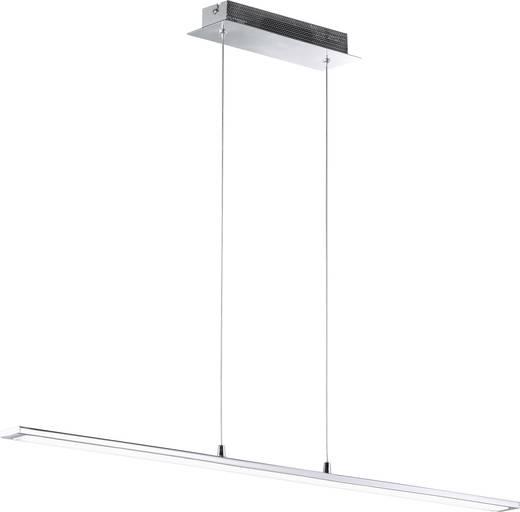 LED-Pendelleuchte 25 W Warm-Weiß WOFI Mercur 7313.01.01.0000 Chrom